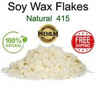 Kyпить 100% Soy Wax Flakes PREMIUM QUALITY Candle Making Supplies Cosmetic Natural 415 на еВаy.соm