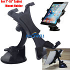 "US 360° Rorating Car Windshield Holder Desktop Mount Holder For 7""~11"" Tablets"
