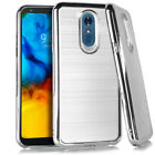 LG Stylo 5 Brushed Max 3 Case Protective Cover