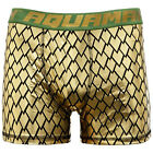 DC Comics Men's Justice League Aquaman Gold Armor Licensed Boxer Brief New