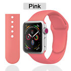 Apple Watch iWatch Series 5 4 3 2 1 38/40/42/44mm Soft SILICONE Sport Strap UK
