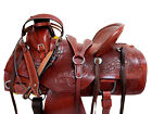 COWBOY ROPING WESTERN SADDLE TOOLED LEATHER HORSE PLEASURE PACKAGE 15 17 16 TACK