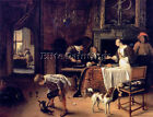 JAN STEEN 61EASY ARTIST PAINTING REPRODUCTION HANDMADE OIL CANVAS REPRO WALL ART