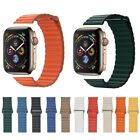 Magnetic Leather iWatch Wrist Band Loop Strap for iWatch Series 5 4 3 2 1 44mm image