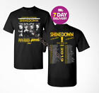 New Shinedown Attention Attention Dates Tour 2019 T Shirt Black image