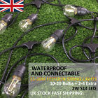 11/20m S14 2W LED Filament Festoon Fairy Lights with Bulb   Outdoor Garden Party