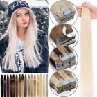 Skin Weft Tape In Remy Human Hair Extensions Fusion Thick Glue US Invisible Q007 $21.72 USD on eBay
