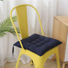 UK Hot Plain Seat Pad Dining Room Garden Kitchen Chair Cushions Tie On G5 Pads !