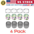 4 Pack of V12 Prince 8ml Extended Replacement Pyrex Glass US STOCK