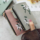 Wallet for Women Small Compact Credit Card Holder Mini Bifold Pocket Purse image