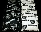 OAKLAND RAIDERS Suede Stick and Slide 8 ACA  CORNHOLE bags Stop n Go Bags $40.49 USD on eBay