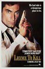 Licence to Kill 3 Poster Movie Poster Canvas Picture Art Wall Decore £37.0 GBP on eBay