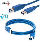 USB Cable 3.0 Printer  A To B Type Male Device Cord Brother Dell Epson Cannon HP
