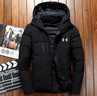 Under Armour Winter Men's UA Down Hooded Jacket Down Coat Parka Outerwear