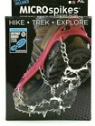 Kahtoola MICROspikes Snow Ice Traction Hiking Crampons Red XL