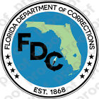 Sticker Florida Doc Department Of Corrections