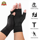 1Pair New Copper Fit Arthritis Compression Gloves Hand Support Joint Pain Relief $4.49 USD on eBay