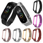 For Xiaomi Mi Band 3 4 Stainless Steel Milanese Bracelet Wrist Strap Watch Band image