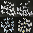 Pvc Diy 3d Effect Fridge Magnet Home Decor Butterfly Shape Room Wall Accessories