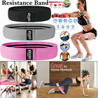 Fabric Resistance Bands - Heavy Duty Booty Bands   Glute Hip Circle   Non Slip.