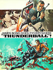 Thunder Ball 3 Movie Poster Canvas Picture Art Wall Decore £63.0 GBP on eBay