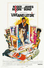Live and Let Die 1 Movie Poster Canvas Picture Art Wall Decore £4.0 GBP on eBay