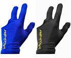 Snooker Pool Billiards 3 Finger Glove Black Or Blue - Right Hand £2.49 GBP on eBay