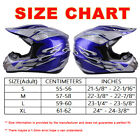 DOT Adult Helmet Youth Kids Motorcycle Full Face Offroad Dirt Bike ATV S M L XL