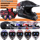 DOT Adult Helmet Youth Kids Motorcycle Full Face Offroad Dirt Bike ATV S M L XL $35.83 USD on eBay