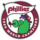 "Philadelphia Phillies Champions MLB Baseball Car Bumper Sticker Decal ''SIZES"" on Ebay"