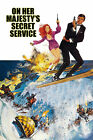 On Her Majesty's Secret Service 3 Movie Poster Canvas Picture Art Wall Decore £4.0 GBP on eBay