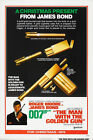 The Man with the Golden Gun 1 Movie Poster Canvas Picture Art Wall Decore £63.0 GBP on eBay