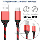 Wholesale Lot Micro USB Charger Fast Charging Cable Cord For Android Cell Phone
