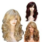 Women's Multi-colored Long Curly Wig Hair Natural Wave Synthetic Hair