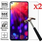 2X 9H Tempered Glass Screen Protector For Huawei Honor 8X 9X 8 9 10 Lite 20 Pro