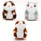 Cute Talking Nod Hamster Mouse Record Chat Pet Plush Toy Children Gift Soft