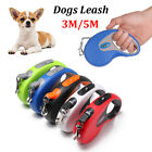 Belt Extending Lead  Retractable Dogs Leash Traction Rope Cord Tape Dog Leads