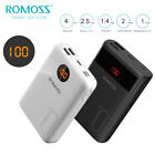 ROMOSS Power Bank 10000mAh 2 USB Battery Pack Portable Charger for Mobile Phone