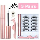 Kyпить 10 Pcs Magnetic False Eyelashes Lashes with Magnetic Liquid Eyeliner Kit на еВаy.соm