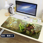 2020 World of Warcraft Occupation race Gaming mouse pad large size Non-slip
