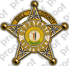 Sticker Civil Bell County Ky Constable Brz