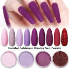 LILYCUTE 5g Nail Dipping Powder Matte Nail Glitter Dipping System Natural Dry