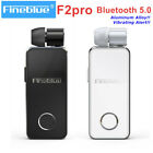 FineBlue F2 pro Wireless Bluetooth BT V5.0 Business Earphone Headset Vibrating
