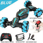 Remote Control Off-Road Gesture Sensing 4WD Double Sided Flip RC Stunt Car Gift~