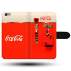 Vintage Coca Cola Vending Bottle Machine Clasp Holder Fabric Phone Case Cover £9.49  on eBay
