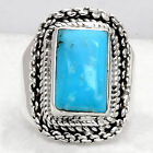 Natural Smithsonite 925 Sterling Silver Handmade Ring Jewelry s.6 SDR61299