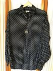 NWT Mens Size L Large Bachrach Long Sleeve Button Up Shirt 100% Cotton