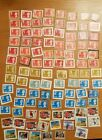 £100+ Face Value  First/Second Class Large Security stamps unfranked on paper
