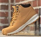 Nike Manoa Leather - New Men's Wheat Haystack Boots Winter Snow Resistant