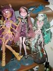 Monstee High Doll Lot Ghost Line, sold as a whole line , taken very good care of